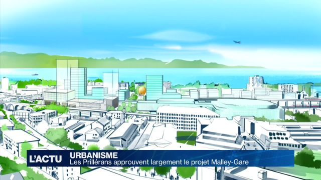 Les Prillérans approuvent largement le projet Malley-Gare
