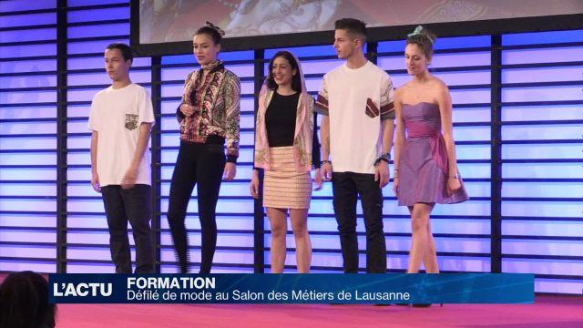 Défilé de mode au Salon des Métiers de Lausanne