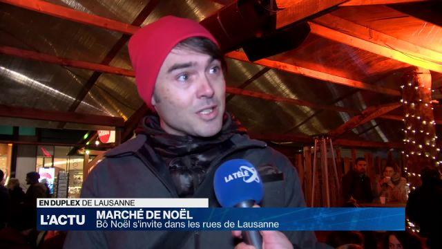 Bô Noël s'invite dans les rues de Lausanne