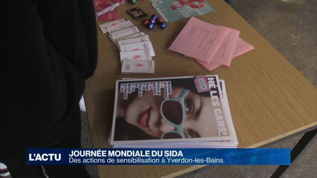 Journée mondiale du SIDA à Yverdon-les-Bains