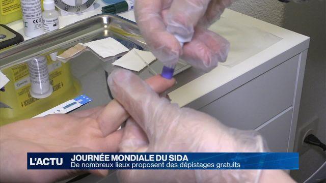 VIH : De nombreux lieux proposent des dépistages gratuits