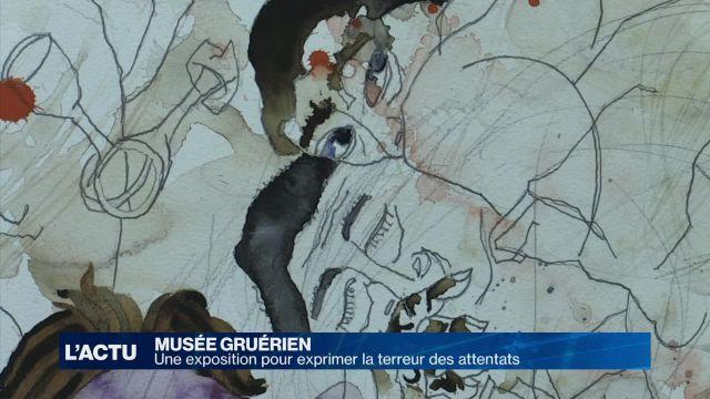 Une exposition à Bulle pour exprimer la peur des attentats