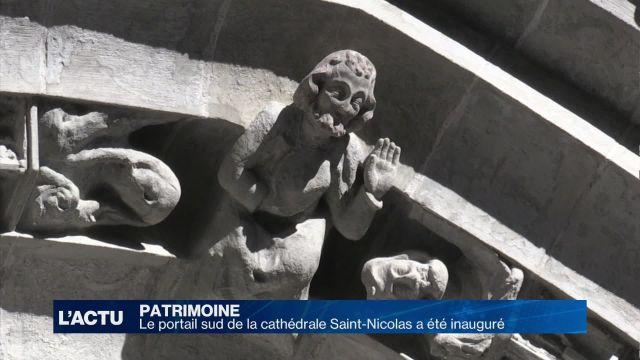 Inauguration du portail sud de la cathédrale St-Nicolas