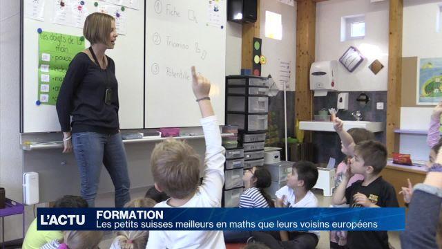 Les petits suisses meilleurs en maths que leurs voisins