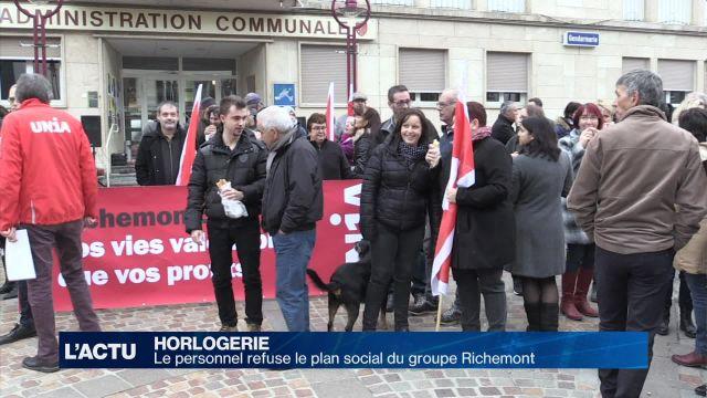 Le personnel refuse l'offre de plan social de Richemont