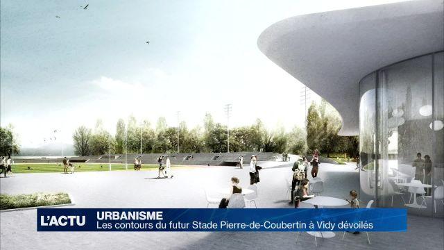 Projet lauréat du Stade Pierre-de-Coubertin à Vidy dévoilé