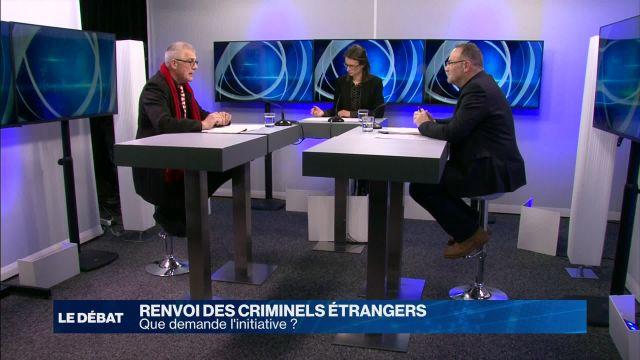 Renvoi des criminels étrangers: l'initiative fait débat