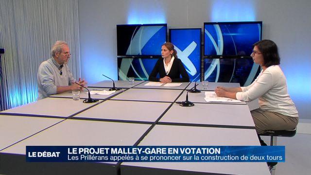 Prilly doit se prononcer sur le projet Malley-Gare