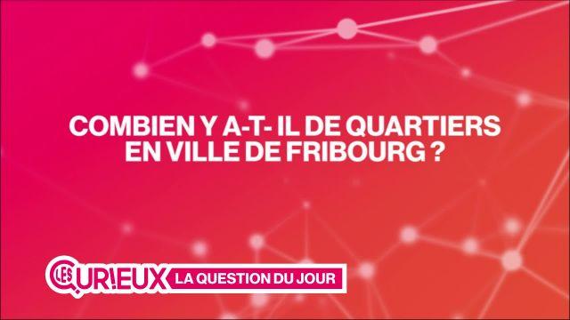 Combien de quartiers y a-t-il en ville de Fribourg ?
