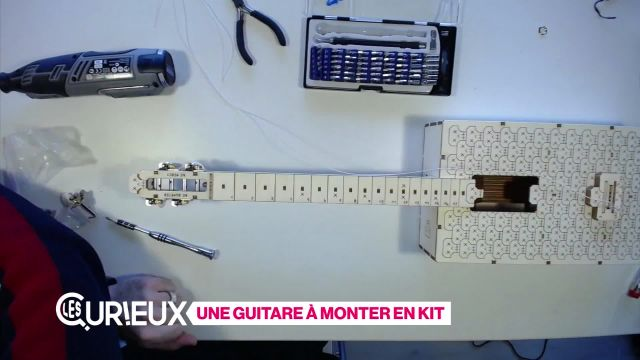 Une guitare en kit à monter soi-même