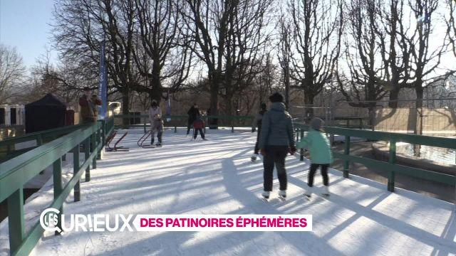 Des patinoires éphémères
