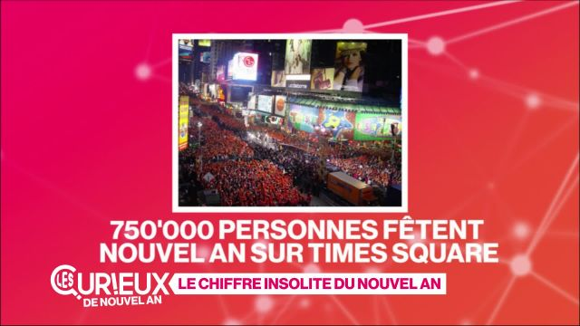750'000 personnes à Times Square pour Nouvel An
