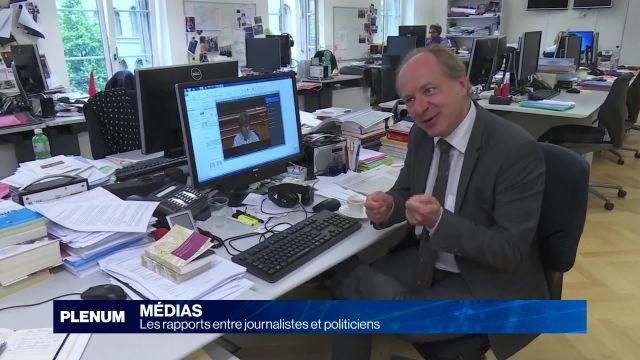 Alain Rebetez et la politique