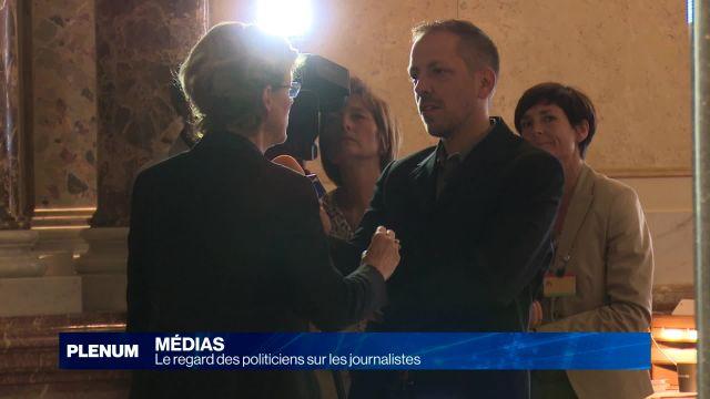 Le regard des politiciens sur les journalistes
