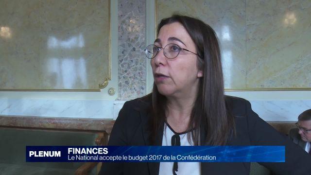 Le National accepte le budget 2017 de la Confédération