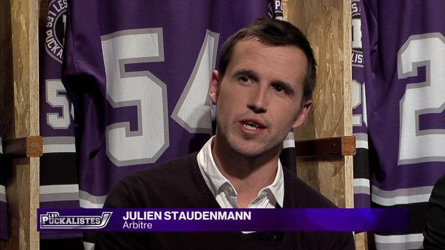 Julien Staudenmann nous parle de sa nouvelle vie d'arbitre
