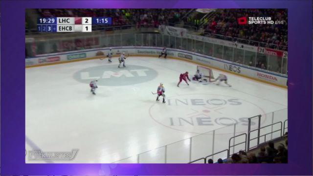 Le Lausanne Hockey Club réagit bien contre Bienne