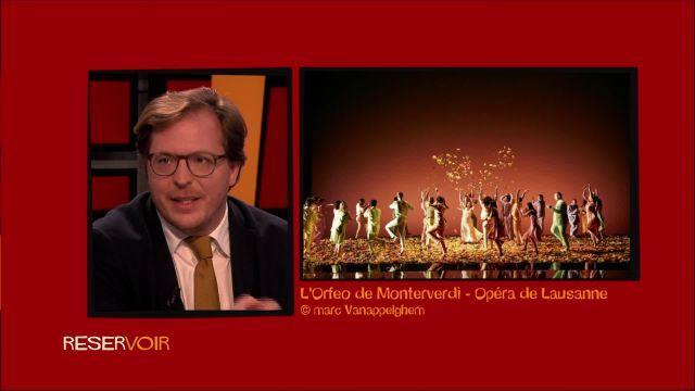L'agenda de Réservoir: entre opéra et cinéma