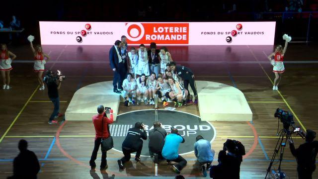 Coupe de la Ligue: Finale féminine Fribourg - Hélios 3-3