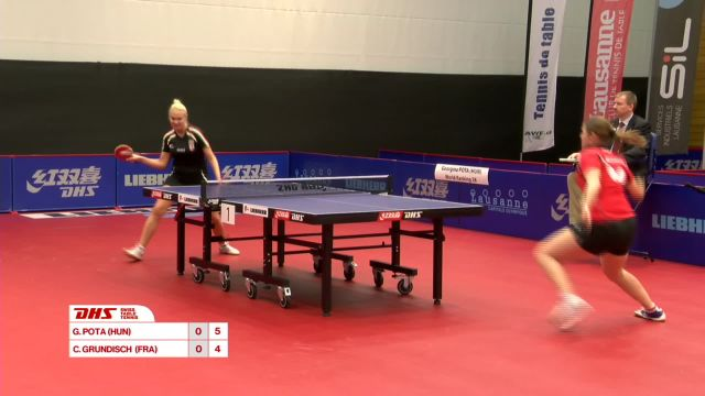 DHS Swiss Table Tennis Open Lausanne 2016 - Partie 1