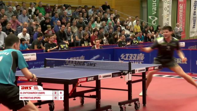 DHS Swiss Table Tennis Open Lausanne 2016 - Partie 2
