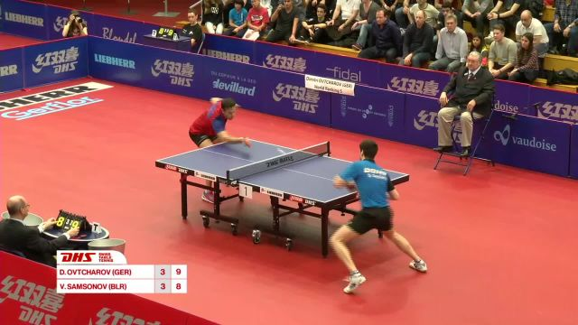 DHS Swiss Table Tennis Open Lausanne 2016 - Partie 5