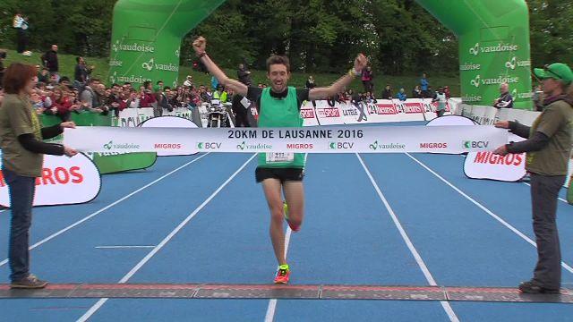 20KM de Lausanne - L'épreuve des 10Km