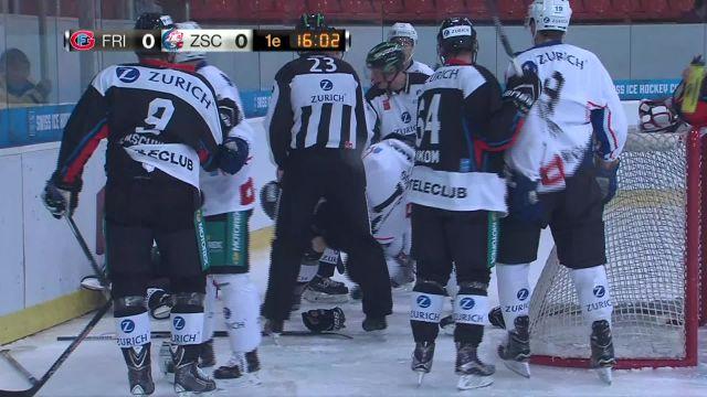 Fribourg-Gottéron - ZSC Lions : 1er tiers