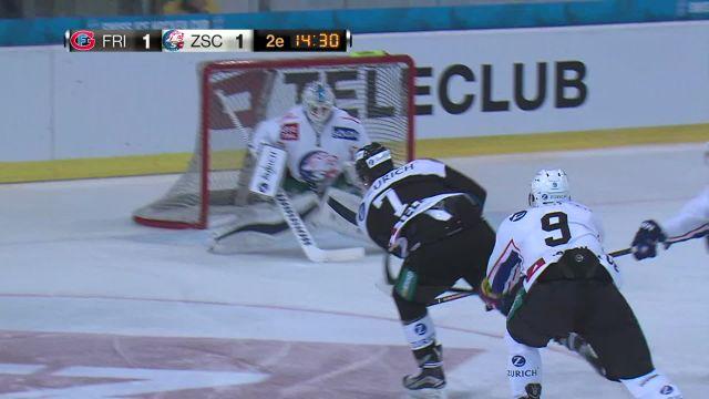 Fribourg-Gottéron - ZSC Lions : 2ème tiers