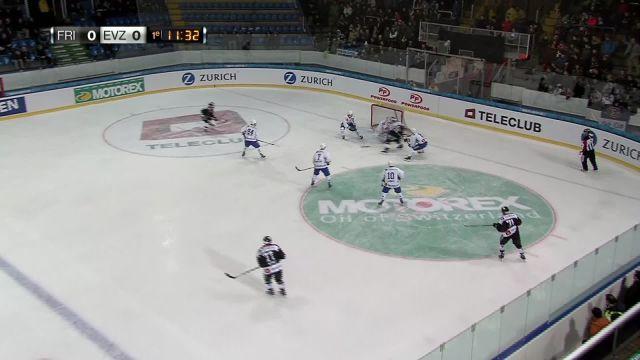 HC Fribourg-Gottéron - EV Zug : début du match
