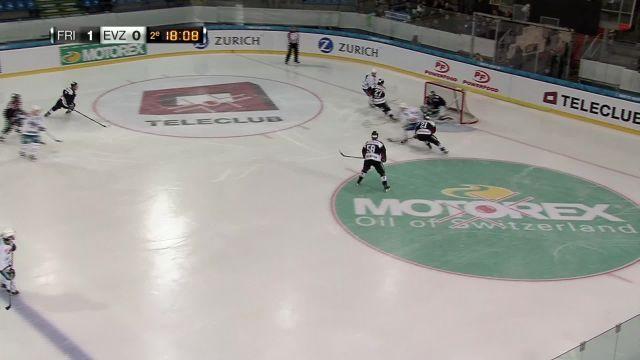 HC Fribourg-Gottéron - EV Zug : 2ème tiers
