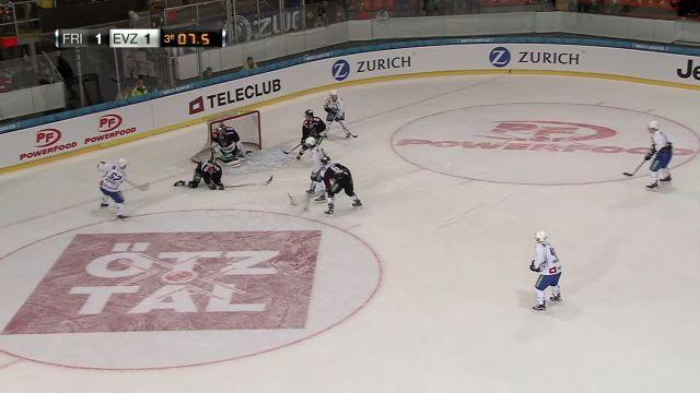 HC Fribourg-Gottéron - EV Zug : fin du match