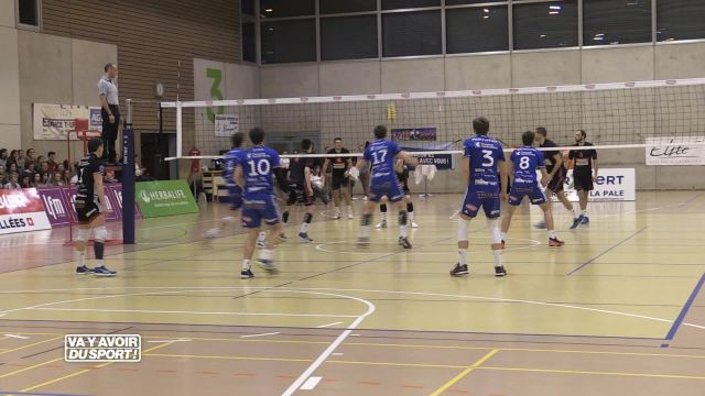 Volley : Lausanne domine le champion en titre 3-0
