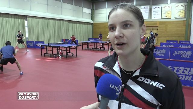 Rachel Moret, la passion du tennis de table