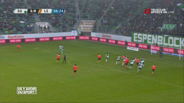 Le Lausanne-Sport rentre battu de St-Gall 2-1