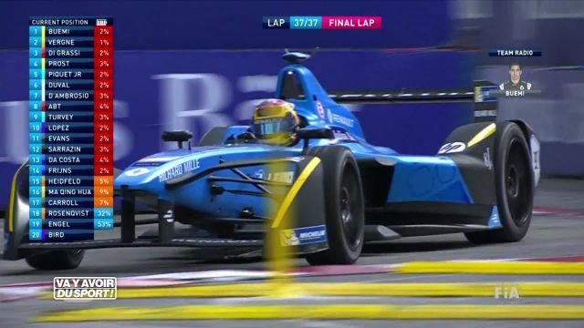 Sébastien Buemi remporte son 3ème E-prix de la saison