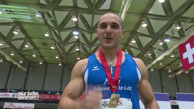 Pascal Mancini remporte son 7ème titre national sur 60m