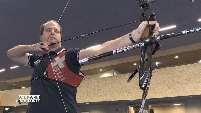 Cette semaine, Anthony Loewer teste le tir à l'arc