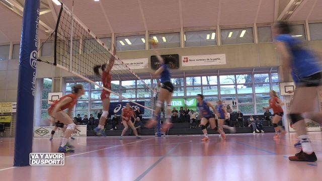 Volley : Franches-Montagnes sans pitié à Cheseaux