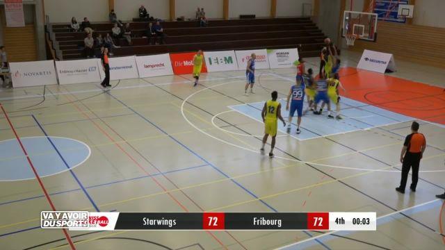 Basket : fortunes diverses pour les clubs valdo-fribourgeois