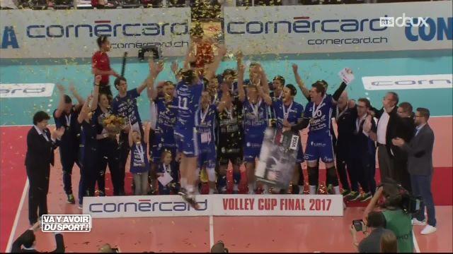 Volley : Logique respectée en finale de coupe de Suisse