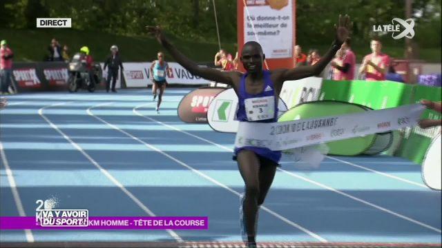 Nouveau record aux 20 kilomètres de Lausanne pour Kibarus