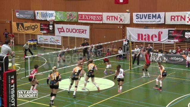 Volley : Cheseaux termine sa saison à la 6e place