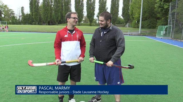 Cette semaine, Anthony Loewer teste le hockey sur gazon