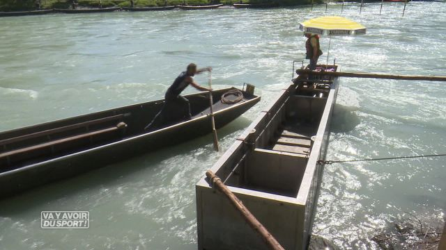 Les pontonniers ont défié le Rhône à Bex