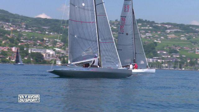 Pully accueillait le championnat suisse de voile 5.5