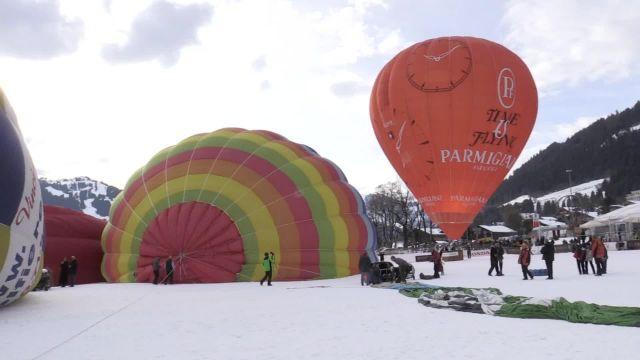 Festival international de Ballons à Château-d'Oex