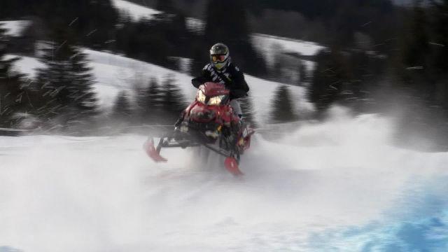 Championnat suisse de Snowcross aux Mosses