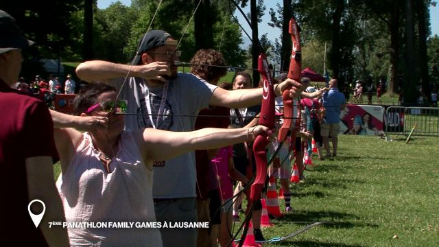 7e Panathlon Family Games à Lausanne
