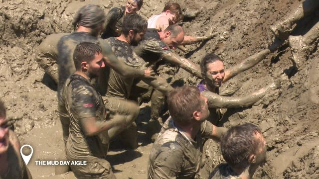 The Mud Day a Aigle